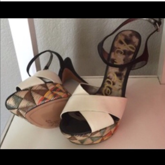 09b0f52aa794 Sam Edelman Shoes | Nwot Hot Platform Stilettos | Poshmark